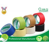 Crepe Paper Colored Masking Tape With High Temperature Silicone Manufactures