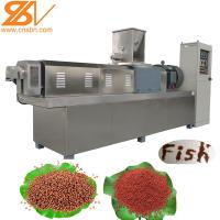 Floating Pellet Fish Feed Processing Machine Extruder Plant BV Certification Manufactures