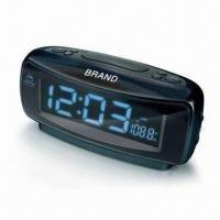 Digital Dual Alarm Clock with AM/FM Radio, Jumbo LCD Screen and Built-in Speaker Manufactures