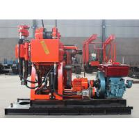 China Large Torque Hydraulic Core Drilling Rig , GK-180 Water Well Borehole Drilling Rig on sale