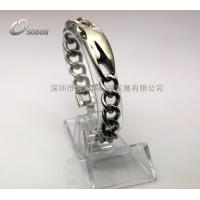 Titanium Color Far Infrared and Magnet Energy 316L Stainless Steel Jewelry Manufactures