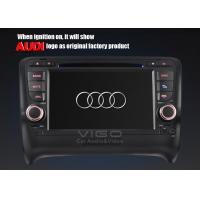 Rear / Front USB Audi Sat Nav DVD for TT with PAL NTSC SECAM TV Systems VAA7053 Manufactures