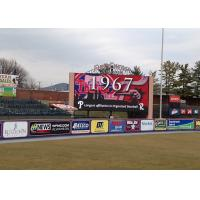 Quality 5mm Pixel Pitch Stadium Led Signs , Led Perimeter Boards 140° Viewing Angle for sale