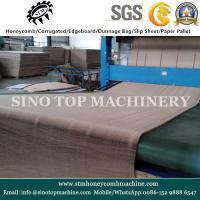 Endless paper honeycomb core making machine Manufactures