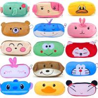 Kids Cute Animal Pencil Case / Cool Plush Pencil Bag for School Manufactures