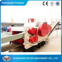 Wood Sawdust Log Machine , Sawdust Wood Grinding Equipment Crusher