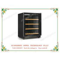 China OP-410 Single-Zone Adjustable Thermostat 90L Capacity Mini Red Wine Cooler on sale