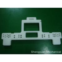 White POM / Delin Jig And Fixture Clamps Precision Plastic assembly  Parts Manufactures