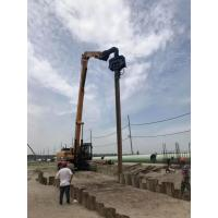 Low Noise Sheet Pile Driving Machine High Accuracy Quick Converting Operation Manufactures