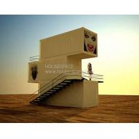 Waterproof Firm Modern Modular House With Good Insulation, Stacked Container House Manufactures