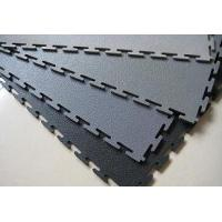 China Plastic interlocking floor tile on sale
