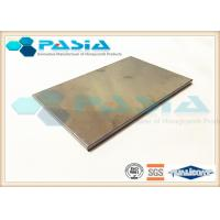 China Heat Resistance Stainless Steel Honeycomb Panels For Entertainment Venues on sale