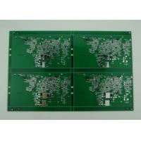 2oz Copper Double Sided PCB with Green Solder Mask , High precision prototype Manufactures