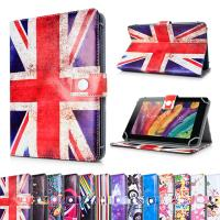 Personalized Universal Printed PU Leather Skin Stand 7 in Tablet Case / Wallet Cover Manufactures