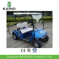 Battery Operated 2 Seater Mini Electric Golf Carts 48V 4KW DC Motor Manufactures