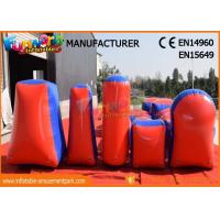 Commercial Inflatable Paintball Bunkers / Adult Inflatable Nerf Arena Manufactures
