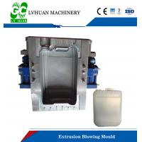 Stainless Steel Extrusion Blow Molding , Plastic Drum Custom Blow Molding Manufactures