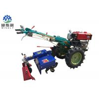 8-25 Hp Diesel Walk Tractor Small Farm Equipment With Planter Plough Ridger Trailer Manufactures