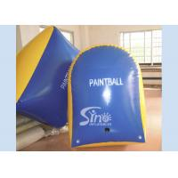 Customized Tomstone Inflatable Paintball Bunker with EN71 certificated PVC Tarpaulin Manufactures