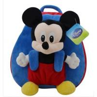 Cute Soft Kids School Backpacks Disney Mickey Mouse School Bag Manufactures