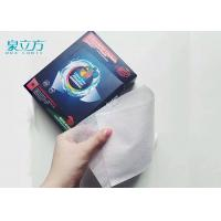Disposable Magnetic Catcher Color Absorbing Laundry Sheets For Light Color Clothes Manufactures