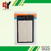 Quality Rectangular Electronics Breadboard Prototype, electronic test board for sale