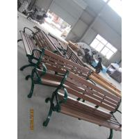 Wooden Garden Seats Benches , Wooden Outside Benches Waterproof Manufactures