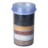 Transparent 5 Layer Household Water Filter Cartridges For Mineral Water Pot Manufactures