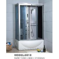 Individual Anti-Slip Resin Portable Shower Room 1200*800*2100mm (8818) Manufactures