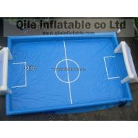Human Table Soapy Inflatable Soccer Field Football Court Arena 16m X 8m Manufactures
