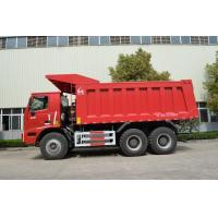 Commercial Euro 2 Heavy Mining Trucks , 70 Ton Dump Truck 6x4 ZZ5607S3841AJ Manufactures