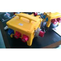 Waterproof Portable Distribution Box Customized Yellow ABS Power House Manufactures