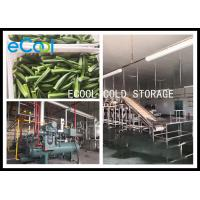 Temperature Controlled Multi Purpose Storage Unit , Freezer Storage Warehouse 24 Hours for sale