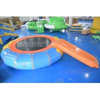 Buy cheap Durable PVC Tarpaulin Inflatable Water Bouncer / Trampoline For Pool from wholesalers