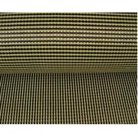 Color Hybird Kevlar Carbon Fiber Cloth 200gsm Manufactures