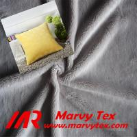 100% polyester microfiber super soft velboa fabric for mattress Manufactures