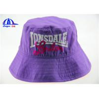 Fashion Style Womens Printed Bucket Hats 100% Cotton Woven Printing Logo Bucket Cap Manufactures