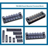 25A 12 Pole Terminal Block 230V 400V 660V TB Series Fixed Barrier Screw Plate Mount Manufactures