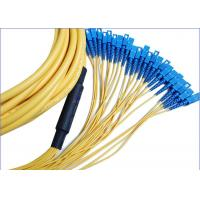 China 12 Core 24 Core SC-SC Fiber Patch Cord for Communication Network And CATV on sale