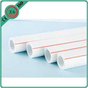 Buy cheap Durable Plastic PPR Pipe / Plastic Plumbing Pipe PN10 - PN25 16 - 110mm Length from wholesalers