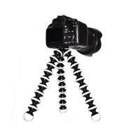 Large Flexible Tripod for SLR, DSLR and compact cameras - Black Manufactures