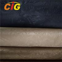 China All Color Artificial Leather Material For Handbag , PVC Synthetic Leather 20-60M/ROLL on sale