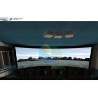 Special Effect 4D Cinema System With Motion Chair , Flat / Arc/ Circular / Globular Screen Manufactures