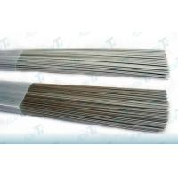 Lightweight Silver / Grey Titanium Alloy Wire Polished With Low Density Manufactures