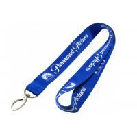 Pantone Colors Name Tag Lanyards , Personalized Neck Lanyards With Bulldog Chip Manufactures