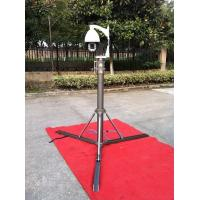 3m Small Pneumatic Telescopic Mast Lightweight , Telescopic CCTV Mast Manufactures