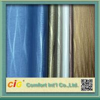 Environmental PVC Artificial Leather Cloth For Sofa / Car Seat / Luggage Tear-Resistant Manufactures