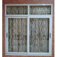 Weatherproof white material aluminum sliding windows with good sound insulation Manufactures