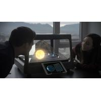 China Portable 19'' 360 Degree Holograpm Display Showcase Plug Play For Advertising on sale