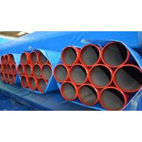 "5"" Round Seamless Carbon Steel Tube , Superheater Thin Wall Steel Tubing Manufactures"